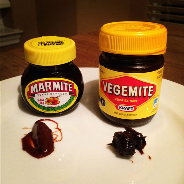 Denmark: Ovaltine and Marmite