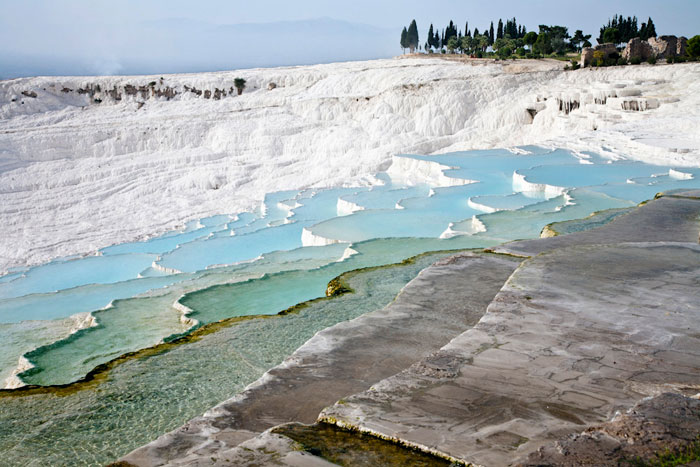 Hot Springs Pamukkale, Turkey