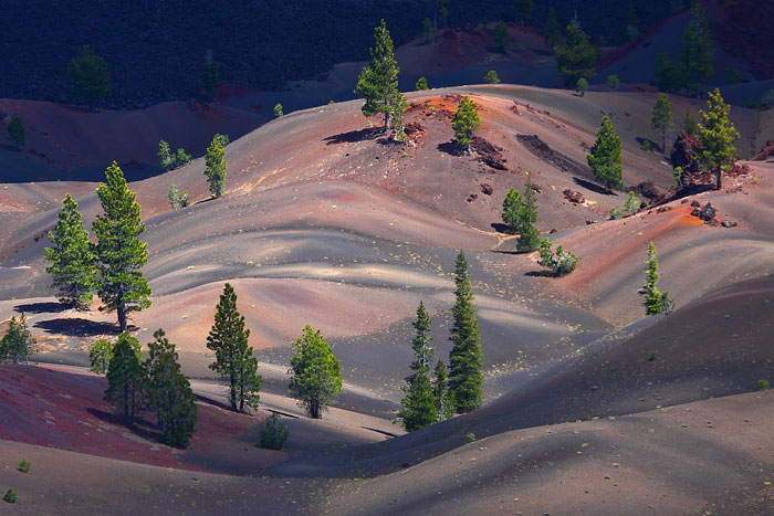 Painted Dunes, Lassen Volcanic National Park