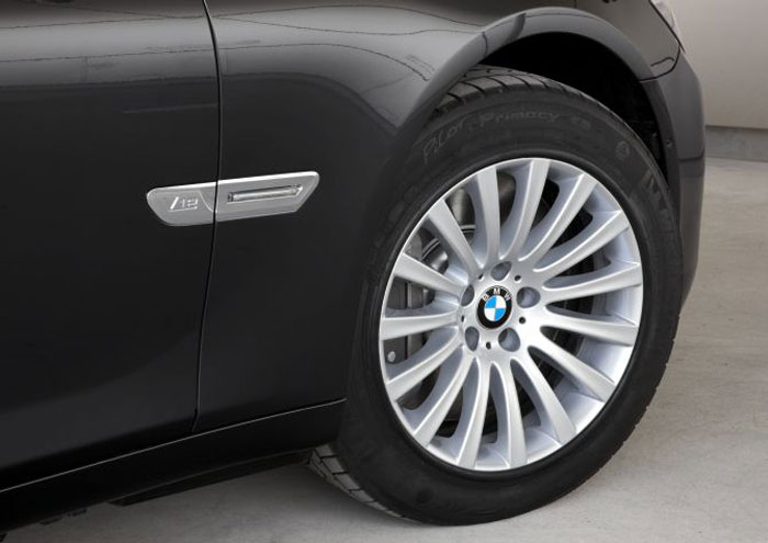 BMW Tyres are shred and puncture resistant with steel rims