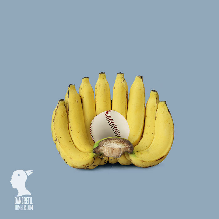 Food Artist Banana Glove