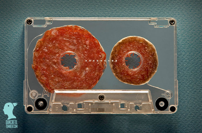 Food Designer Music Looks Delicious