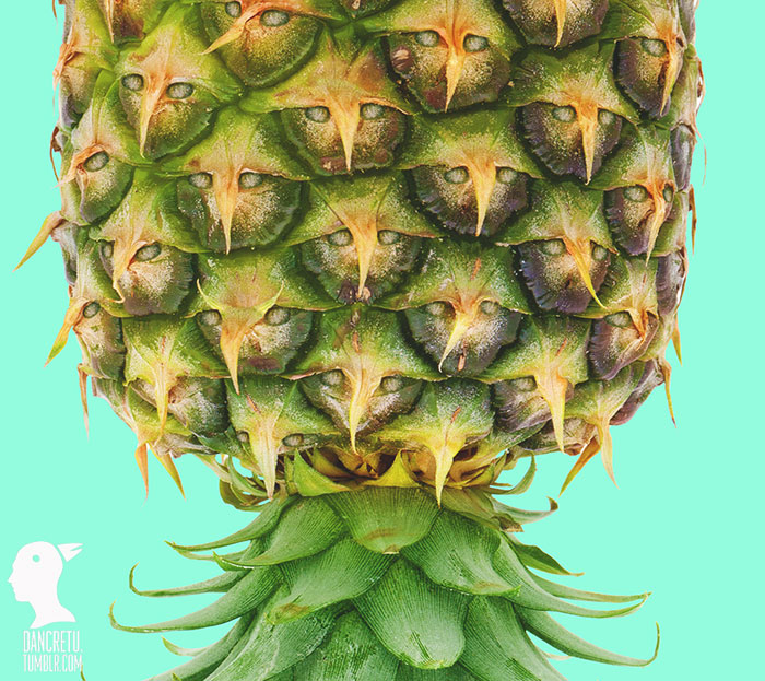 Food Designer Pineapple Face