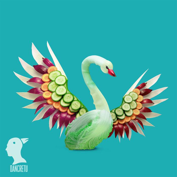 Food Artist Swan