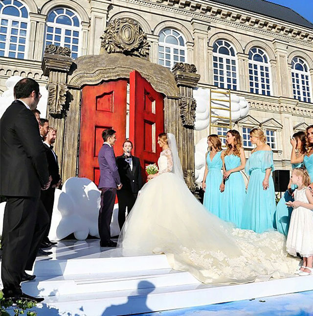 Murad Osmann and Natalia Zakharova Got Married