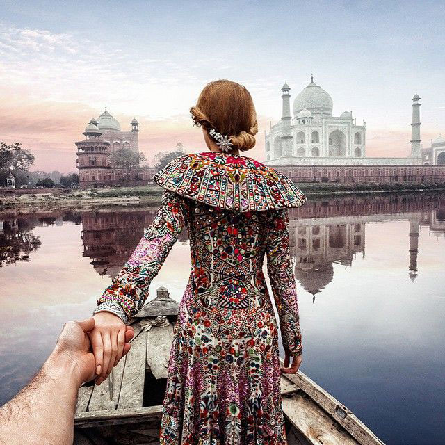 Follow Me To Taj Mahal, Agra