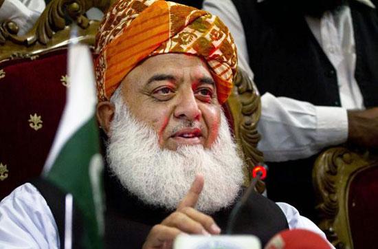 Jamiat Ulema-e-Islami Fazl Chief Maulana Fazlur Rehman