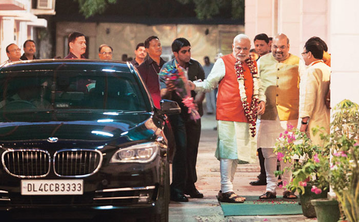 Prime Minister Narendra Modi has the same BMW 760Li car