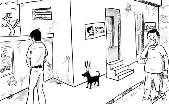Public urination in India