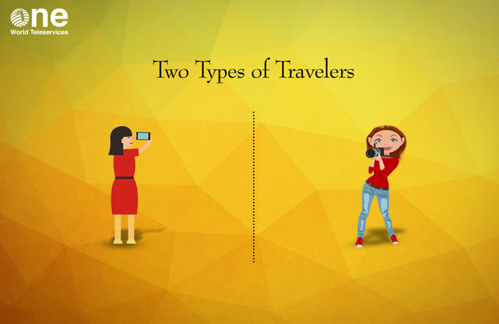 There are two types of travelers in this world