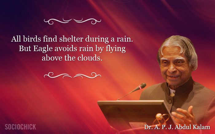 dr apj abdul kalam has passed away but his words will