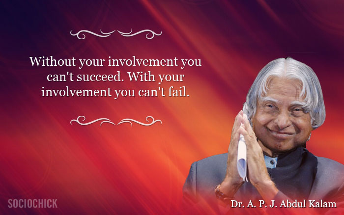 Abdul Kalam Inspiring Words