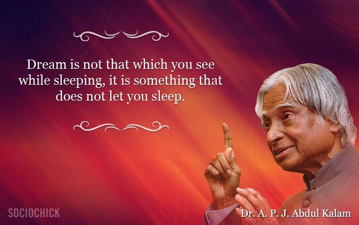 Dr. APJ Abdul Kalam Quotes