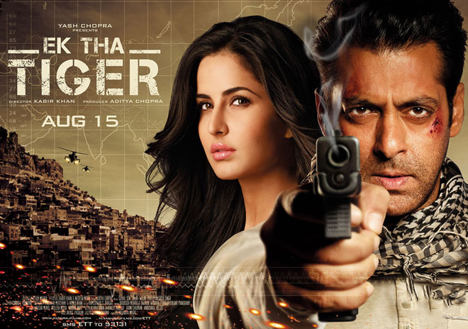 Box office ticket - Ek Tha Tiger movie
