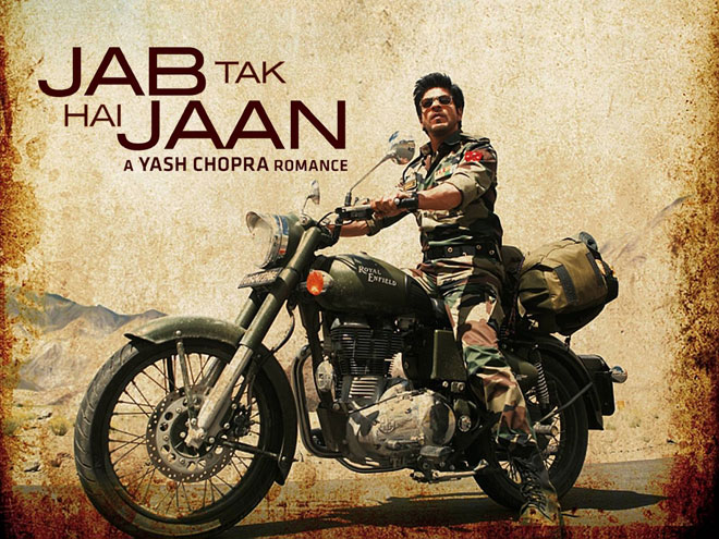 Box office ticket - Jab Tak Hai Jaan movie