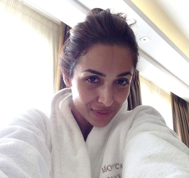 Bollywood Celebrities Without Makeup - Malaika Arora Khan
