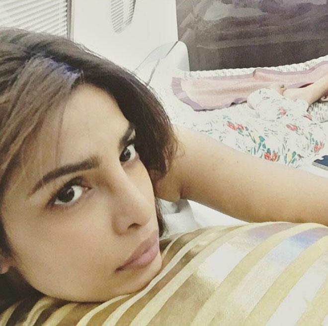 Bollywood Celebrity Without Makeup - Priyanka Chopra