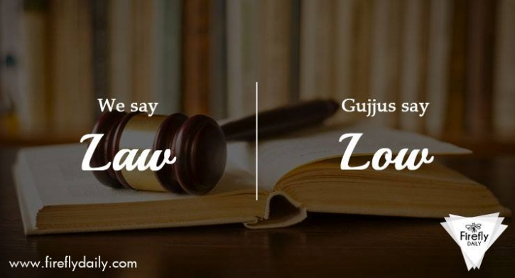 Common English Words Pronounced by Gujjus