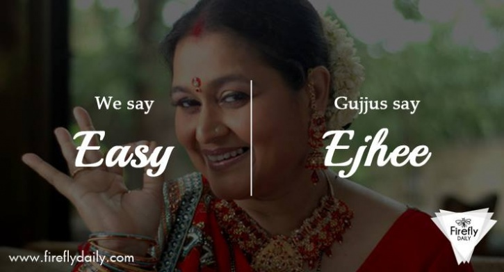 Most Frequently Used English Words Pronounced by Gujjus