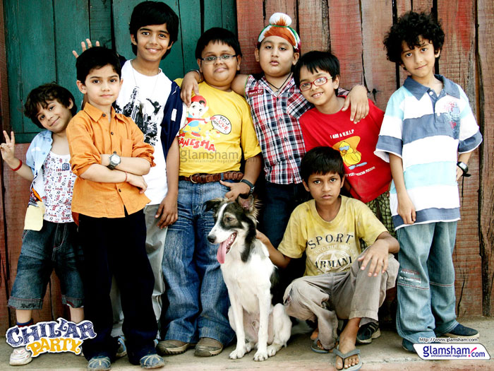 Bollywood movies based on friendship - Chillar Party