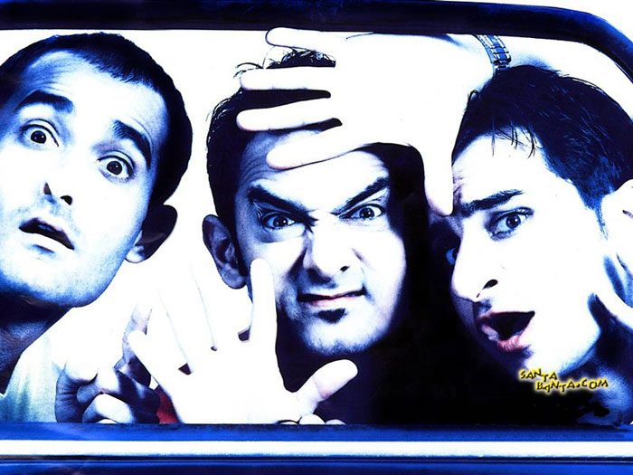 Bollywood movies based on friendship - Dil Chahta Hai