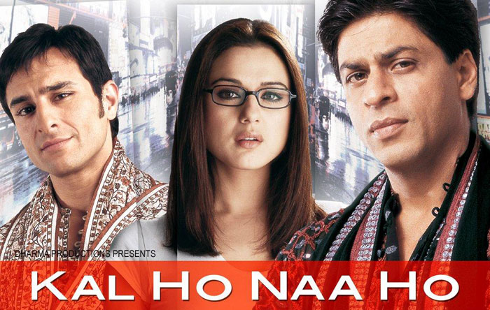 Bollywood movies based on friendship - Kal Ho Na Ho
