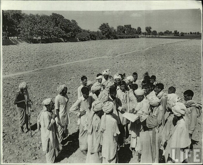 Land Resettlement, Indian Punjab