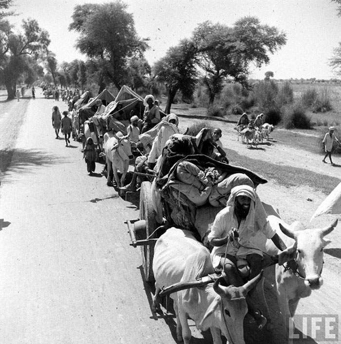 Mass migration into Pakistan
