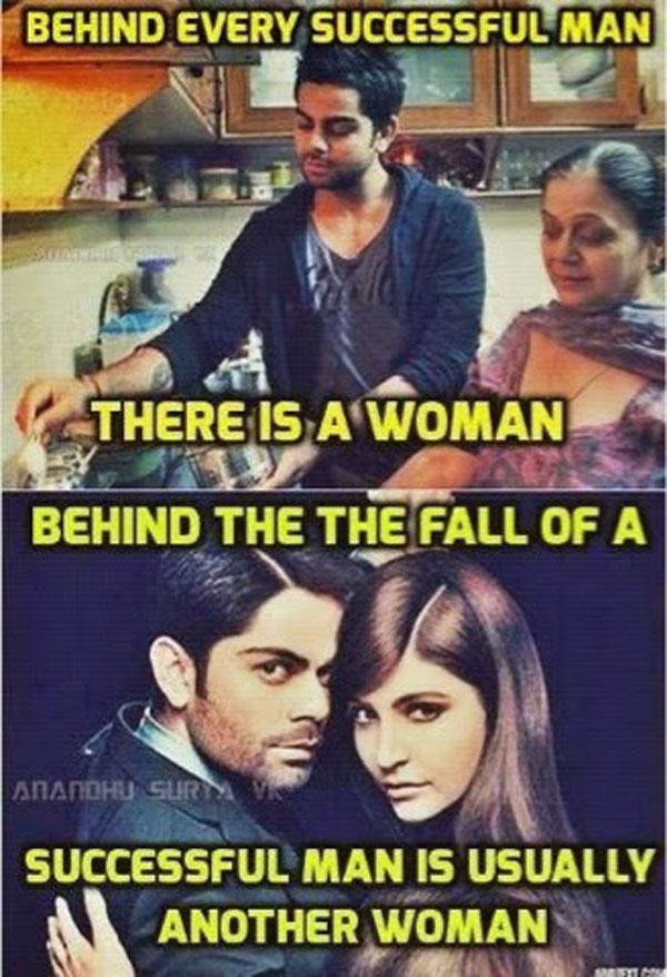 Virat Kohli and Anushka Sharma Jokes