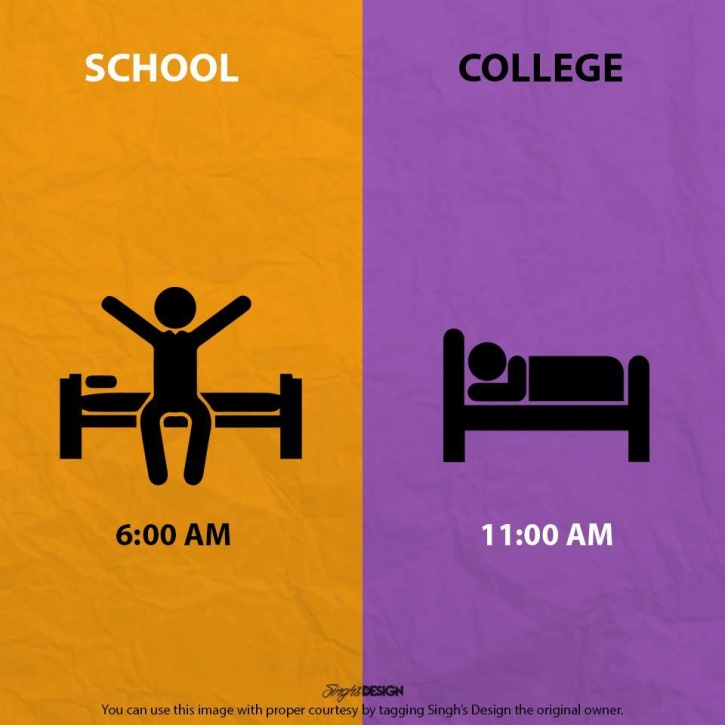 College life is awesome