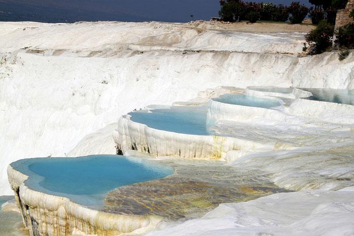 Hot Springs Pamukkale, Turkey