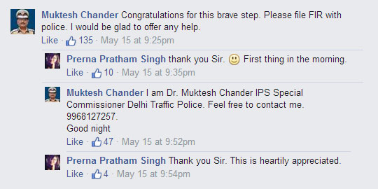 Prerna Pratham Singh Facebook
