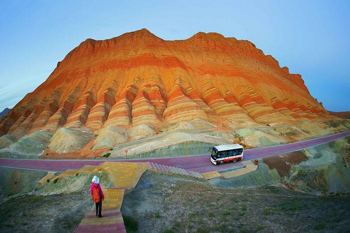 Rainbow Mountains, Zhangye Danxia, China