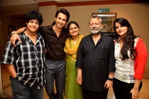 Shahid and his family