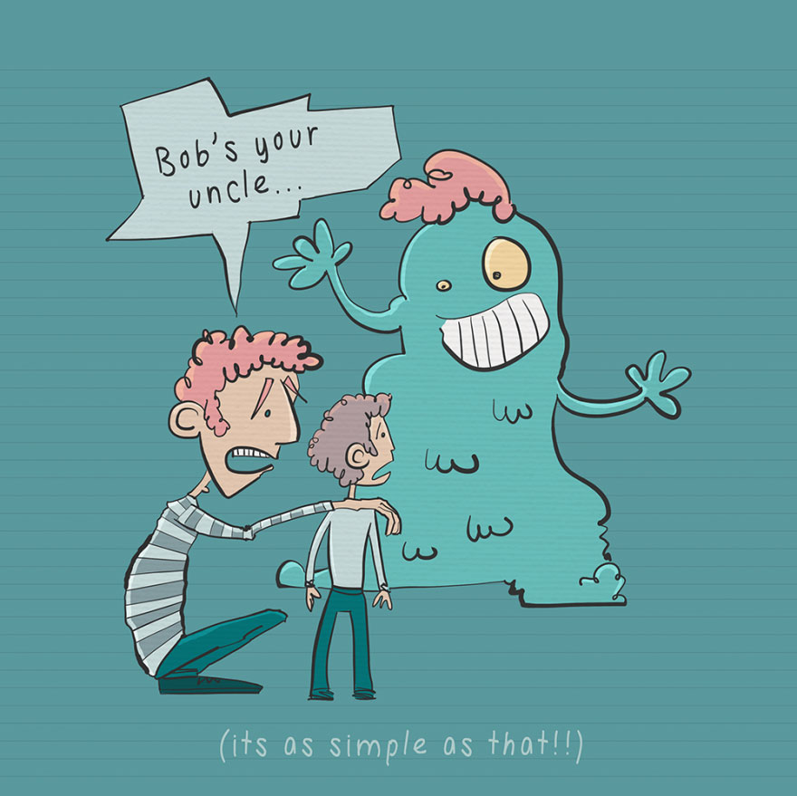 English idiom - Bob's your uncle