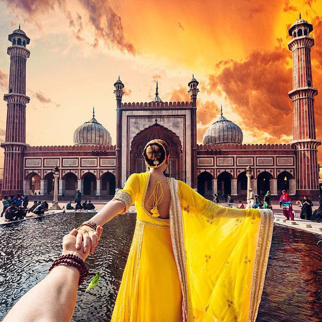 Follow Me To Jama Masjid mosque, New Delhi