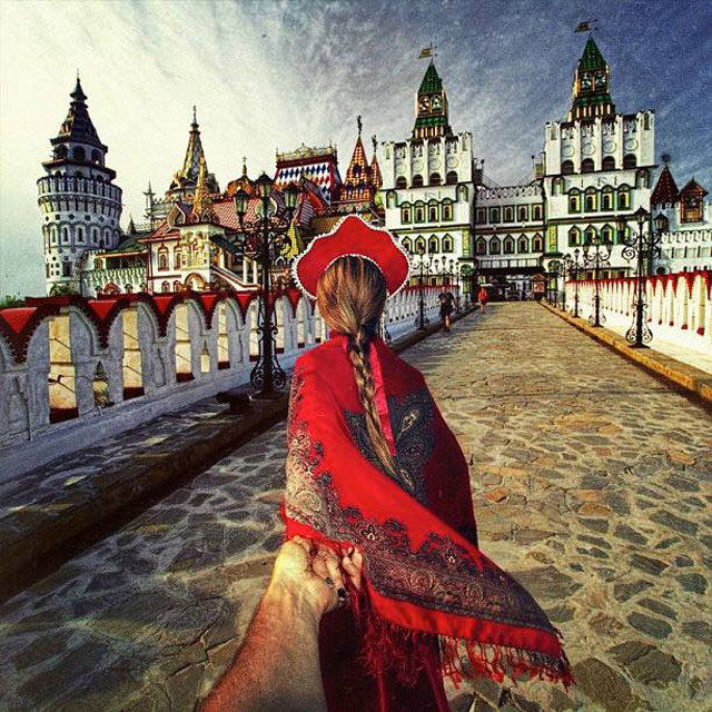 Follow Me To Moscow, Russia