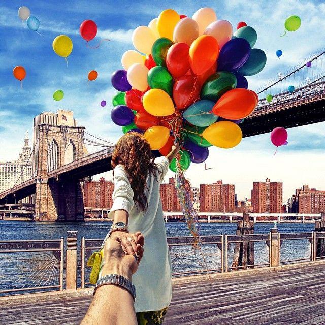 Follow Me To New York, USA