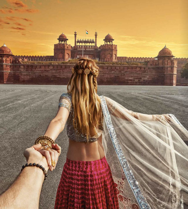Follow Me To Red Fort, New Delhi