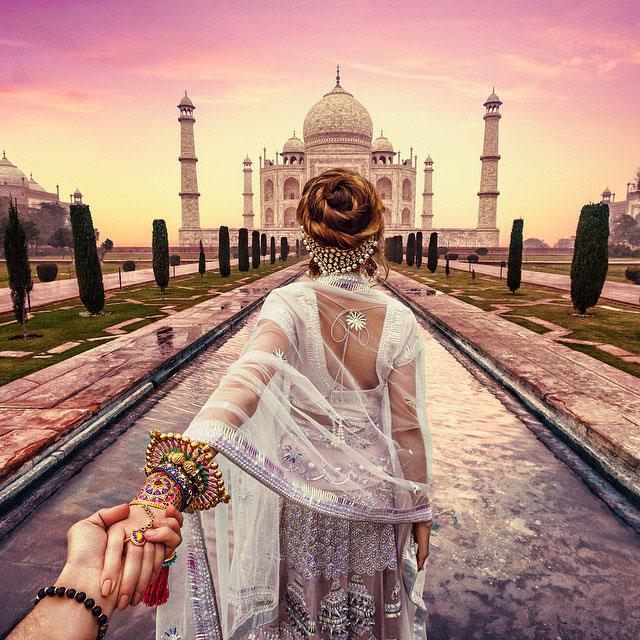 Follow Me To Taj Mahal, Agra
