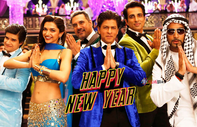 Box office ticket - Happy New Year movie