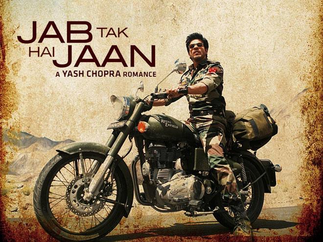 Box office ticket - Jab Tak Hai Jaan movie