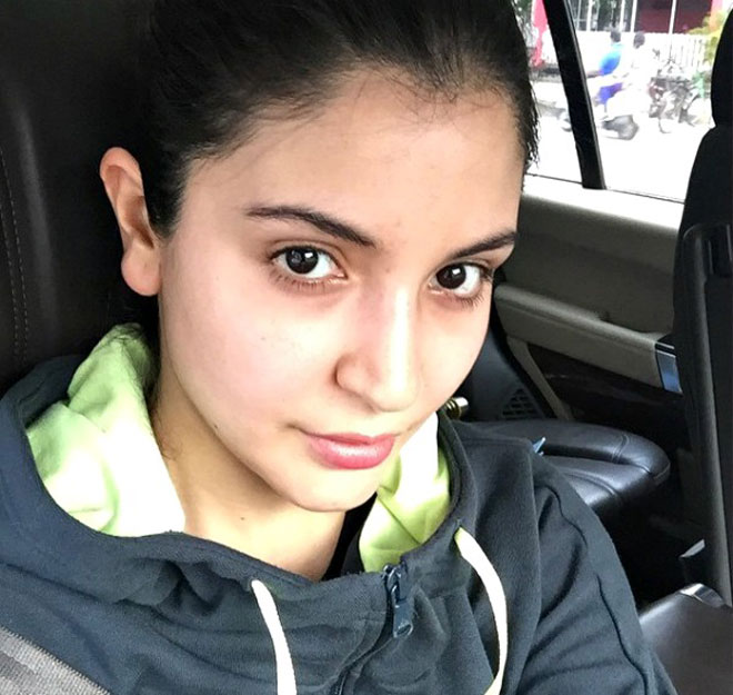 No Makeup Celebrity - Anushka Sharma