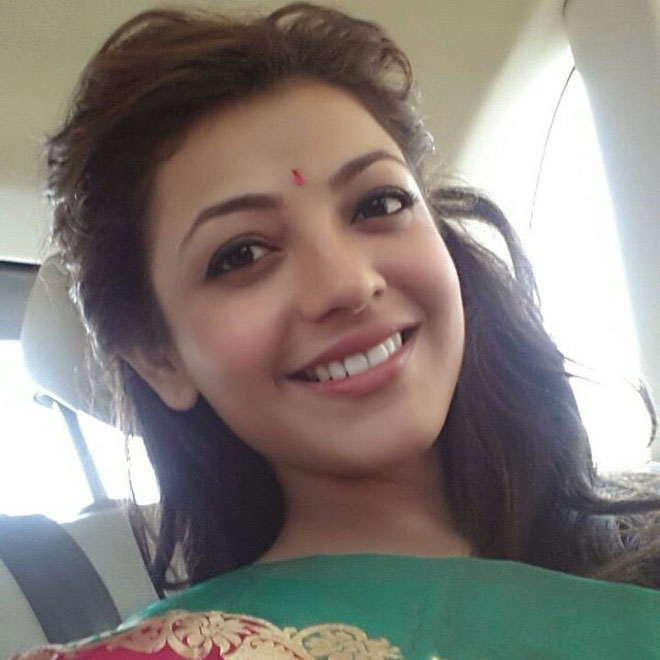 Bollywood Celebrity Without Makeup - Kajal Aggarwal