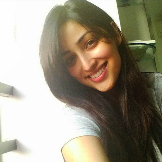 Bollywood Celebrities Without Makeup - Yami Gautam