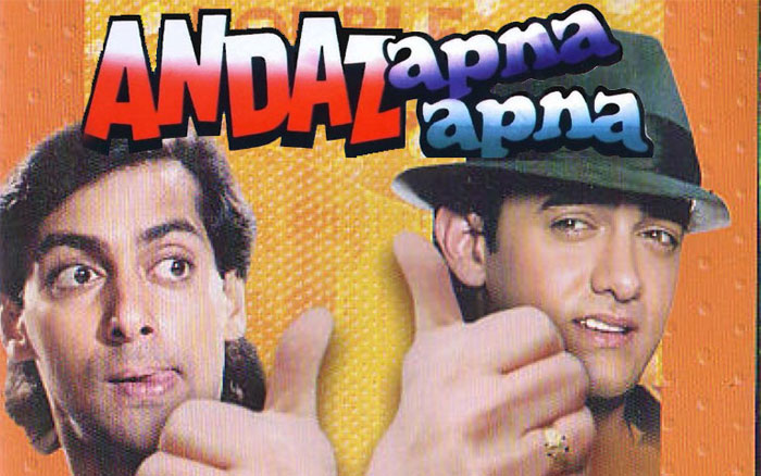 Bollywood movies based on friendship - Andaz Apna Apna