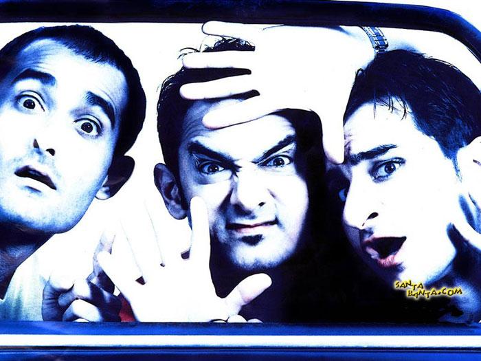 Bollywood movies based on friendship - Dil Chahta Hai