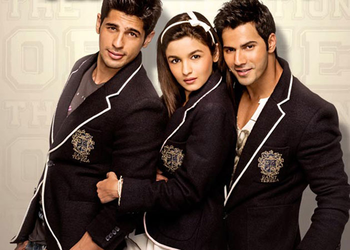 Bollywood movies based on friendship - Student Of The Year