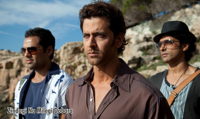 Bollywood movies based on friendship - Zindagi Na Milegi Dobara