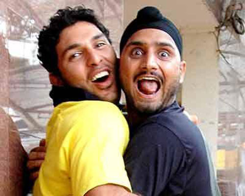 M S Dhoni: The Untold Story - Harbhajan Singh and Yuvraj Singh will be playing small parts in the film